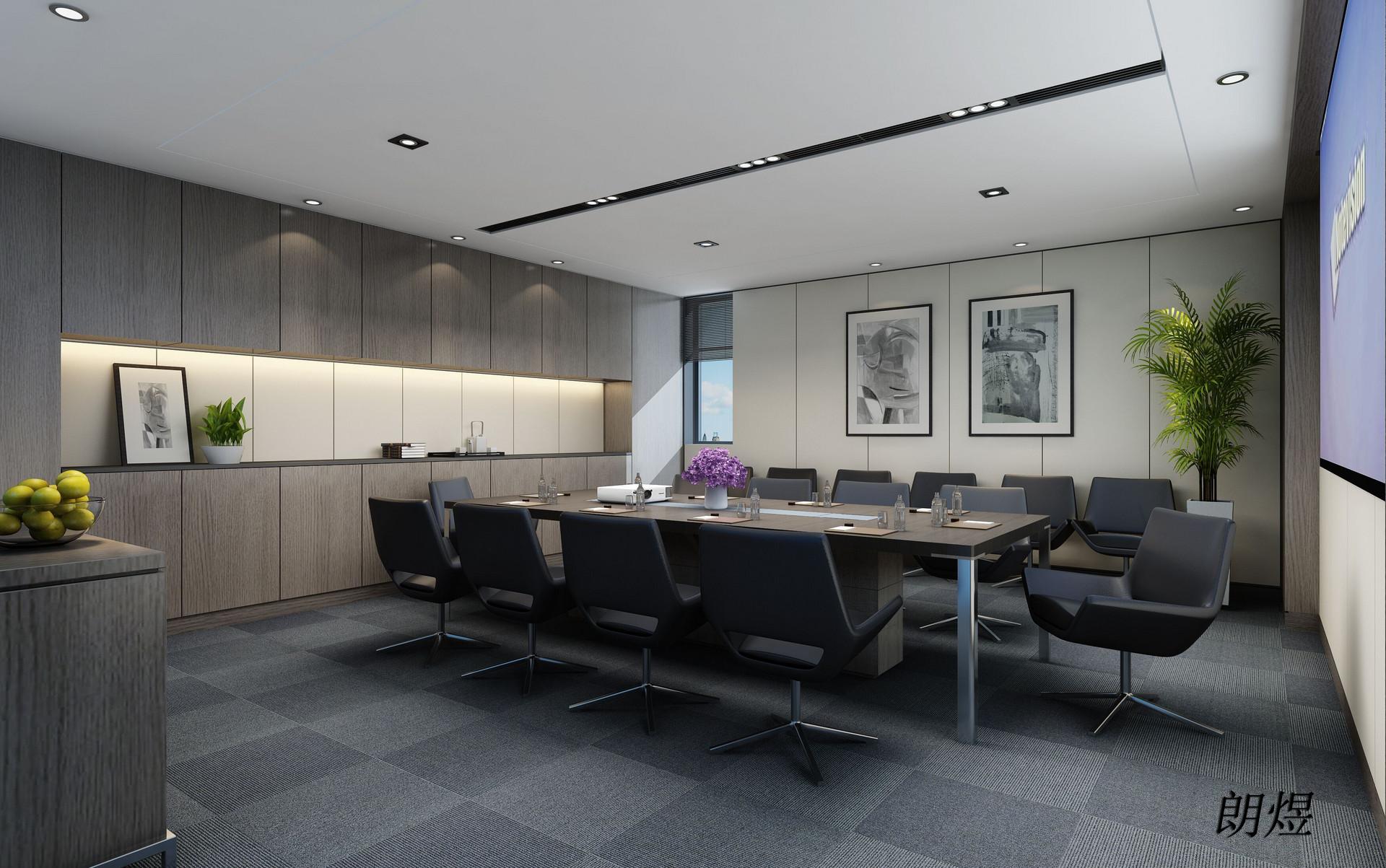 成都金融投资办公室装修设计