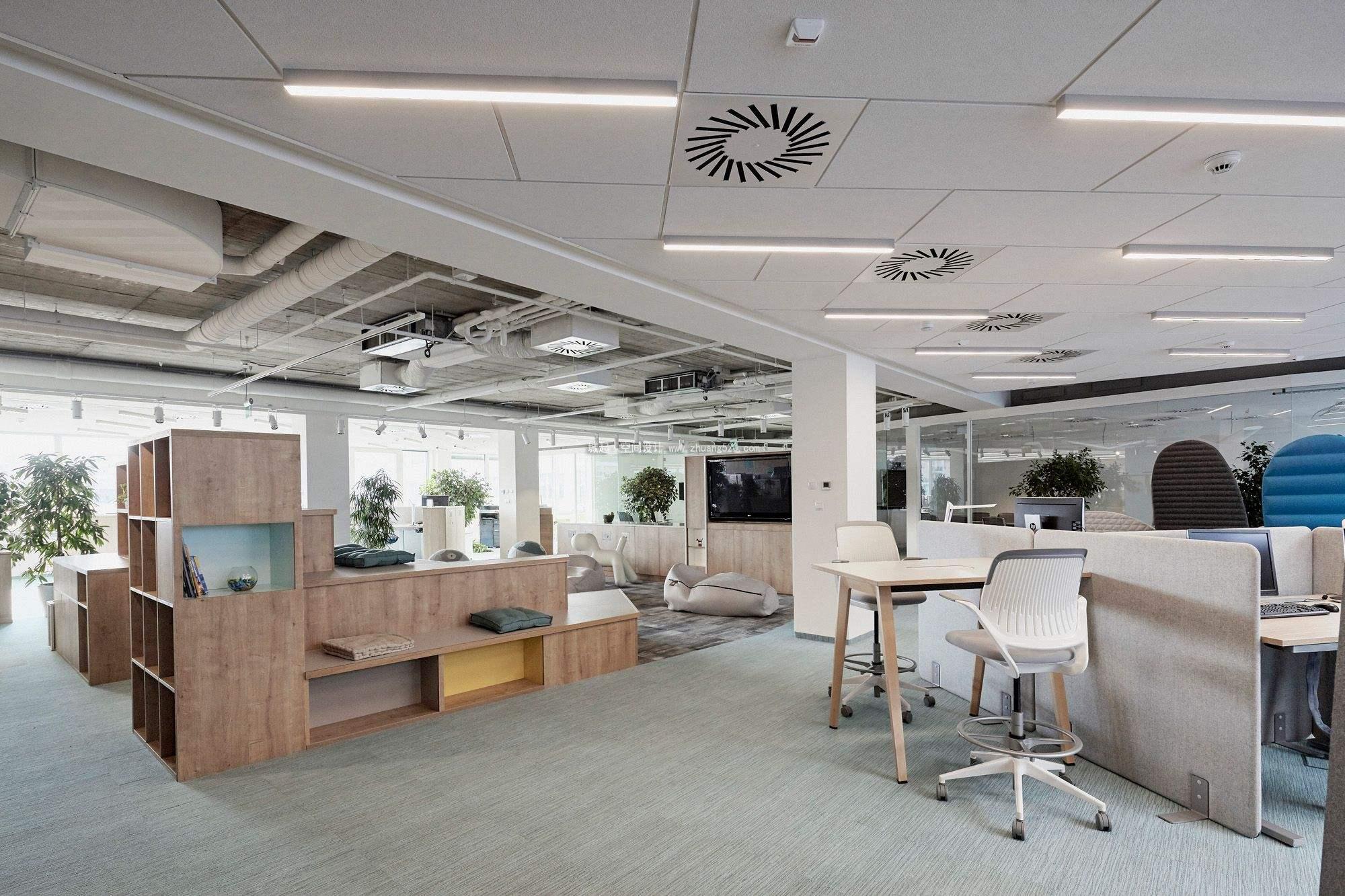 成都办公室装修.不同行业办公室如何装修设计?-工装设计-成都朗煜工