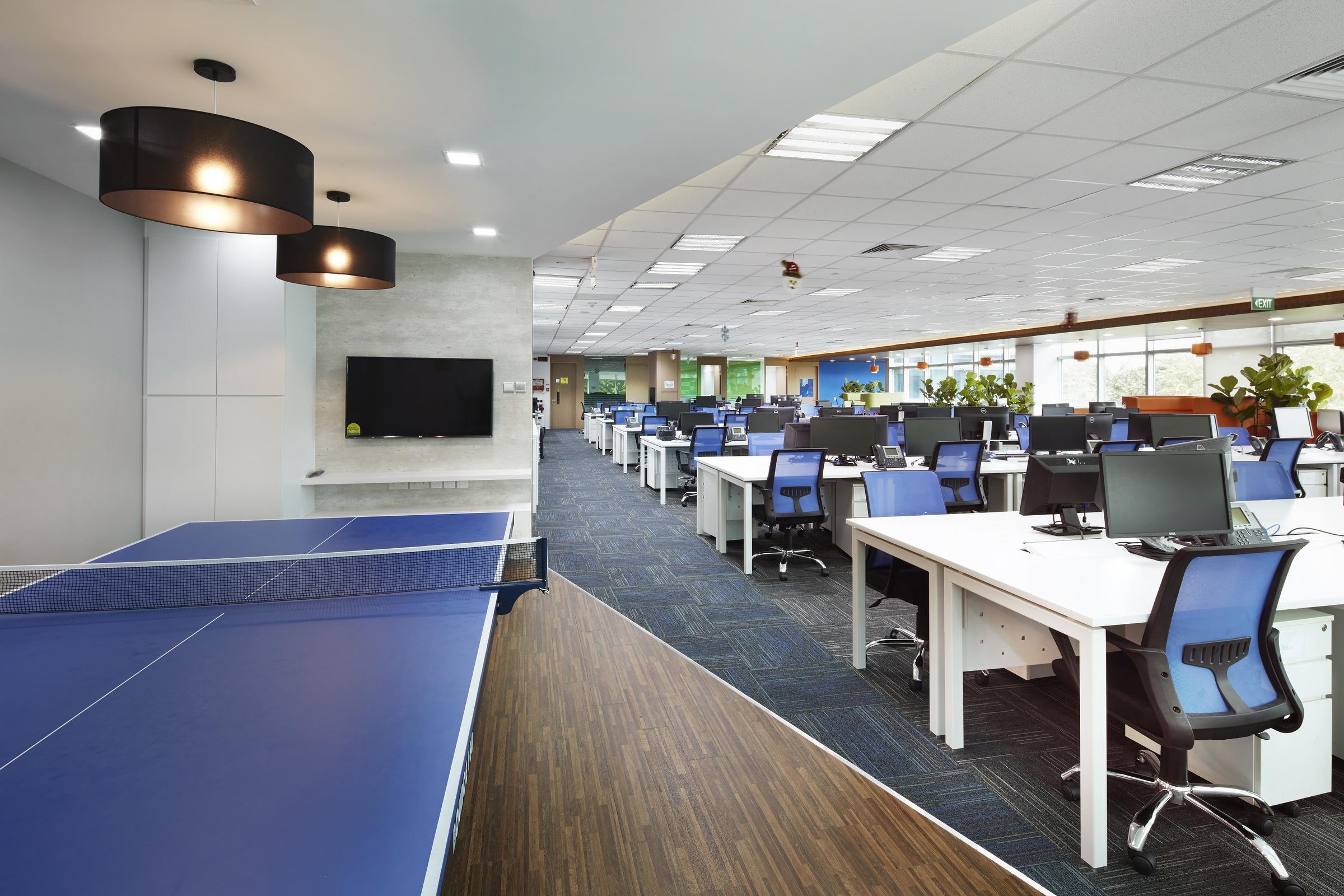 成都办公室装修.常见的几种办公室吊顶方