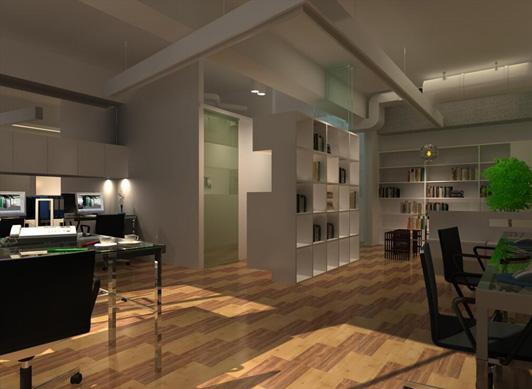 成都办公室装修.50-100平小型办公室装修要多少钱?-工装设计-成都朗煜