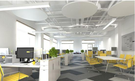 这几种最美办公室装修吊顶样式,你知道多少?