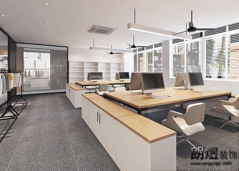 这样的成都办公室装修设计,完胜同行!