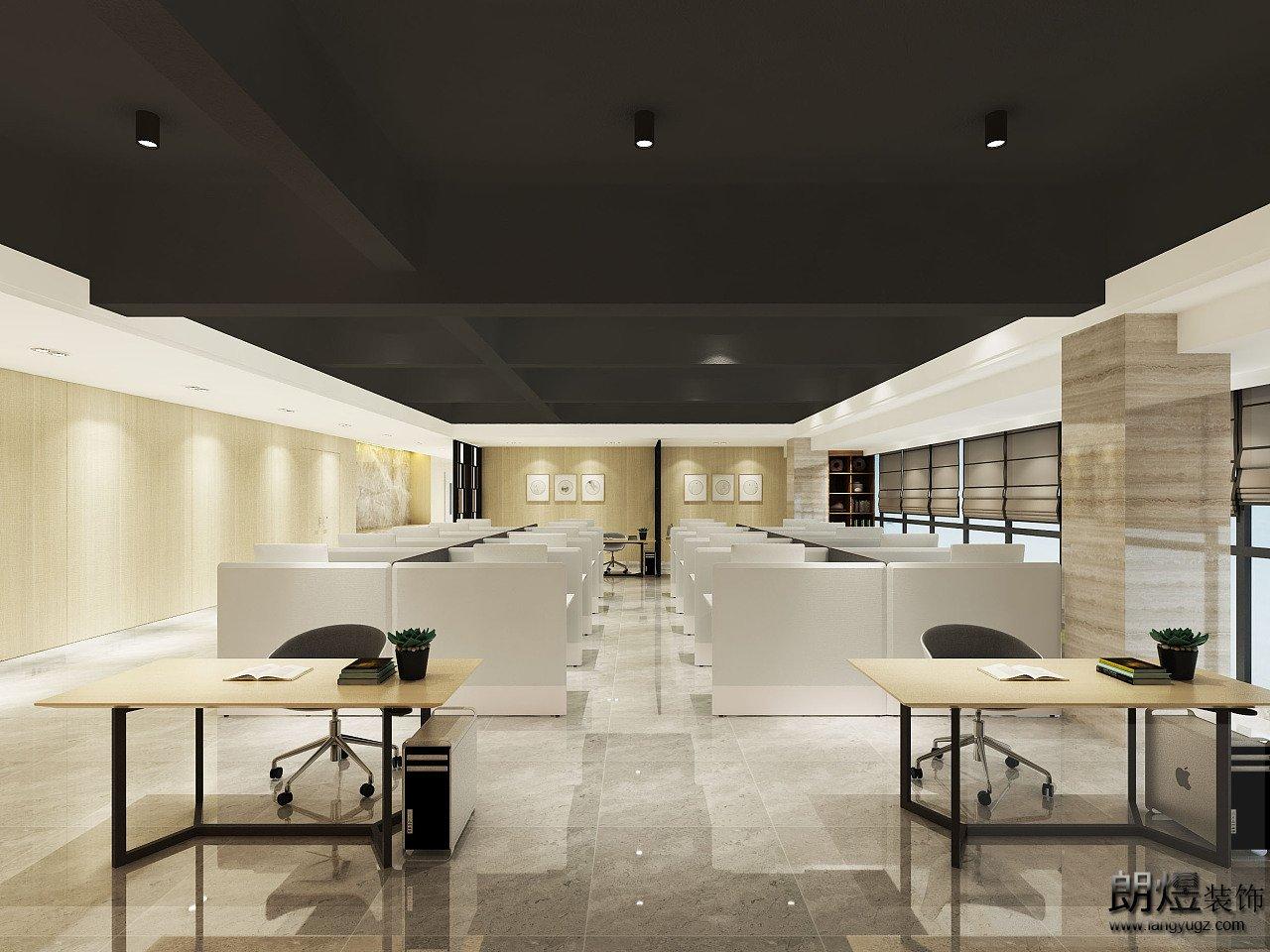 为什么新中式办公室装修可以如此高端?这就是原因!