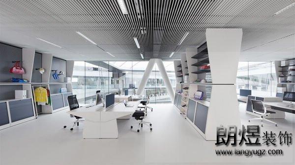 简约办公室如何装修的即实用又好看?从