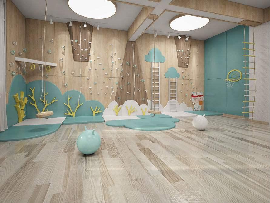 成都幼儿园装修教室应该如何设计?