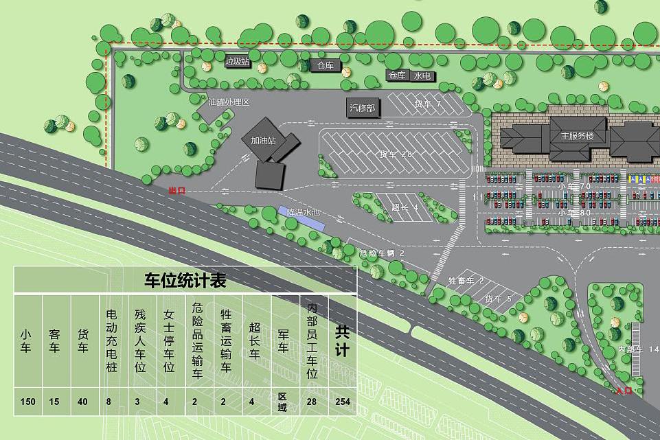 省高速公路服务区装修设计规划讲解