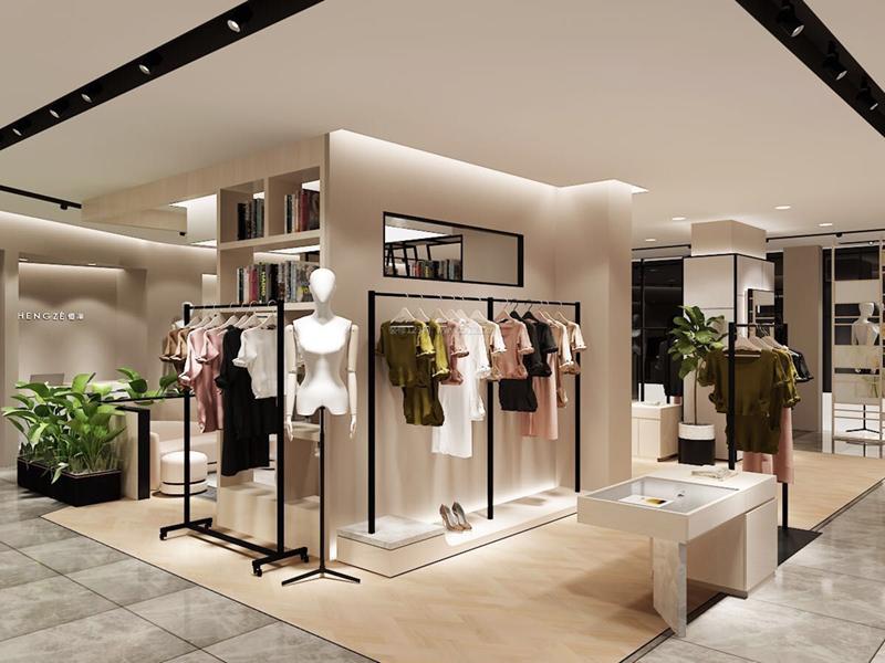 45平米左右的服装店铺装修需要多少钱?