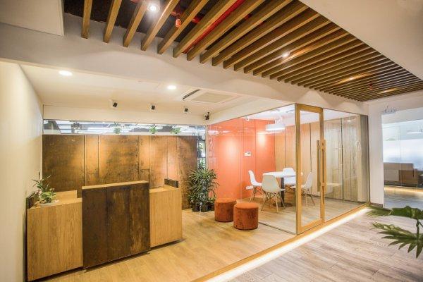 创意型电子商务办公室装修案例