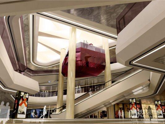 工装案例-凯悦商场设计效果图
