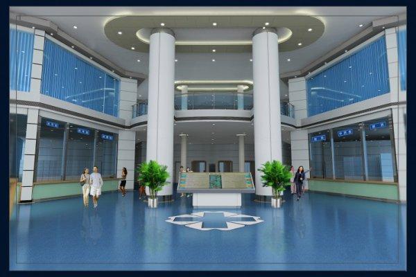 高新区大型综合医院装修设计效果图