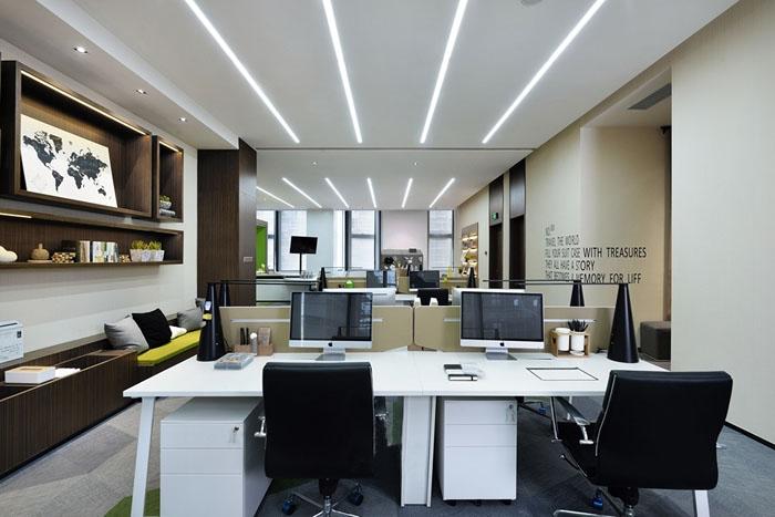 高端地产办公室装修设计效果图