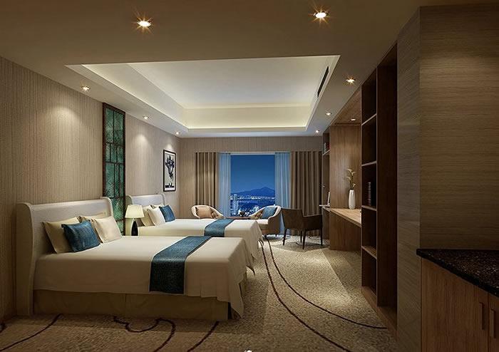 成都商务酒店装修常见设计风格