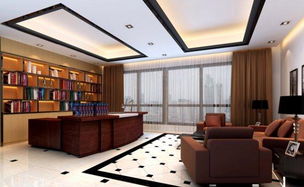十款适合老板办公室背景墙装修的设计方案