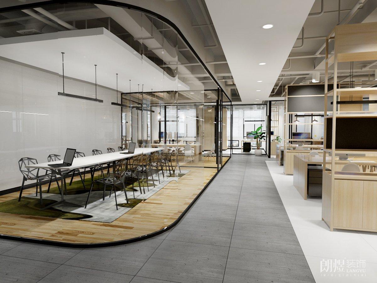 开放式的办公室设计有什么好处?