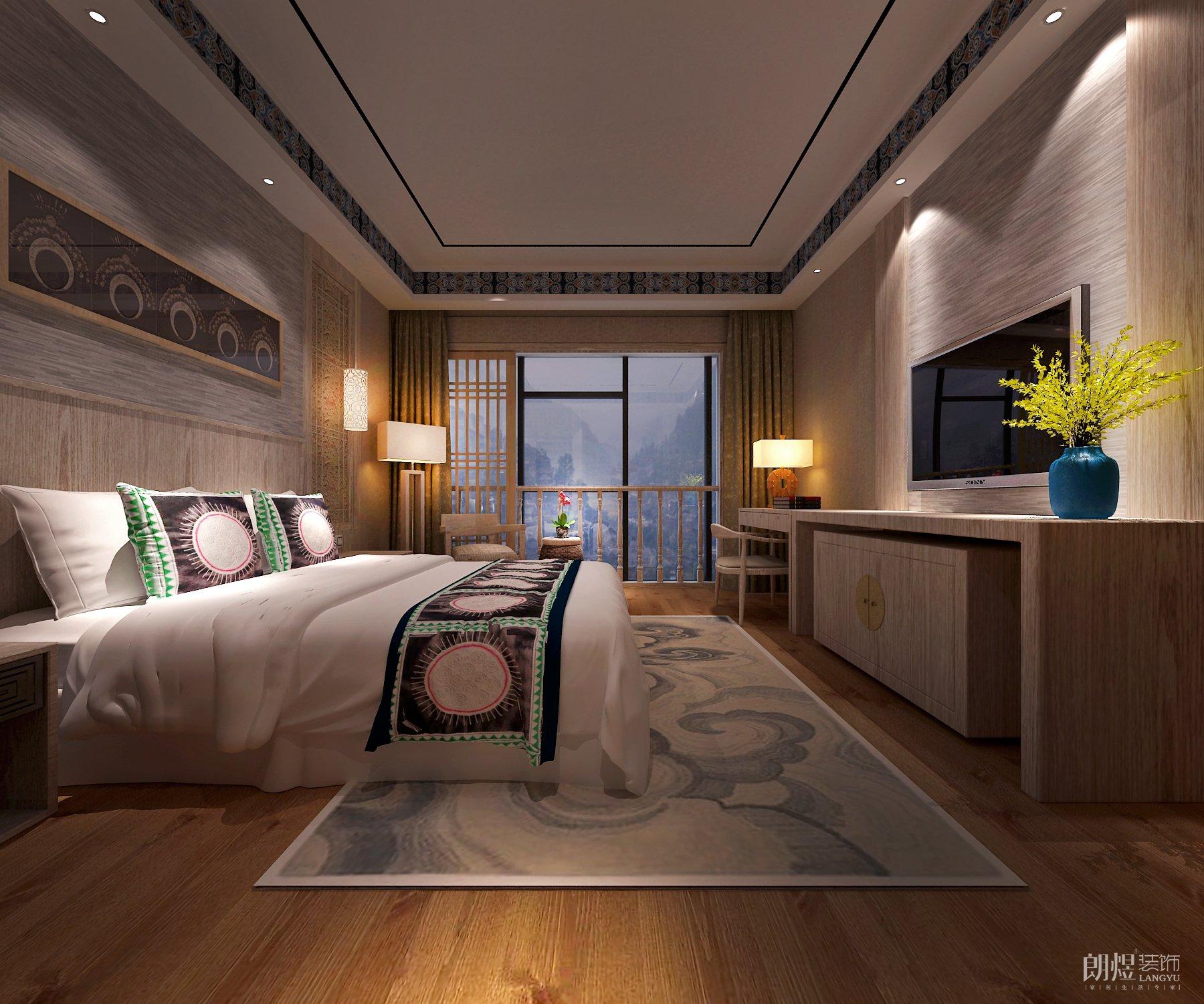55+1民宿酒店装修效果图