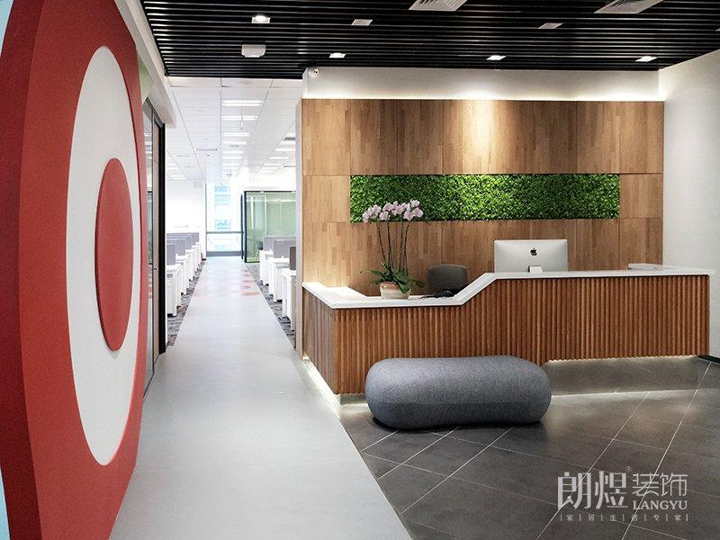 成都科技公司办公室装修效果图