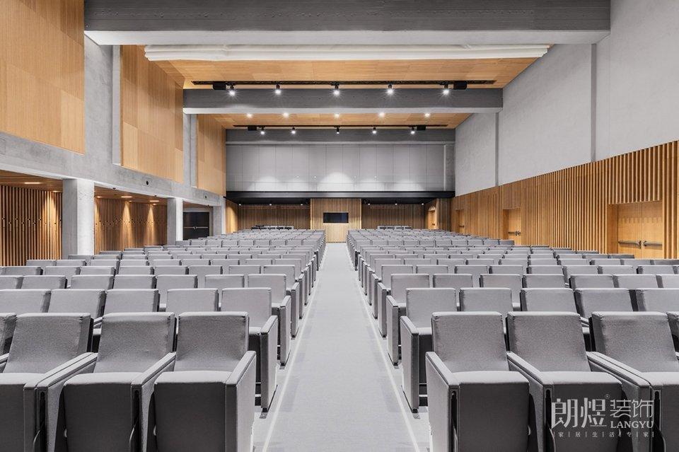 大学礼堂多功能会议厅装修效果图