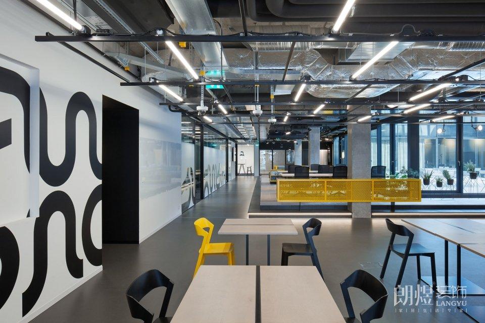 新概念共享办公室装修效果图