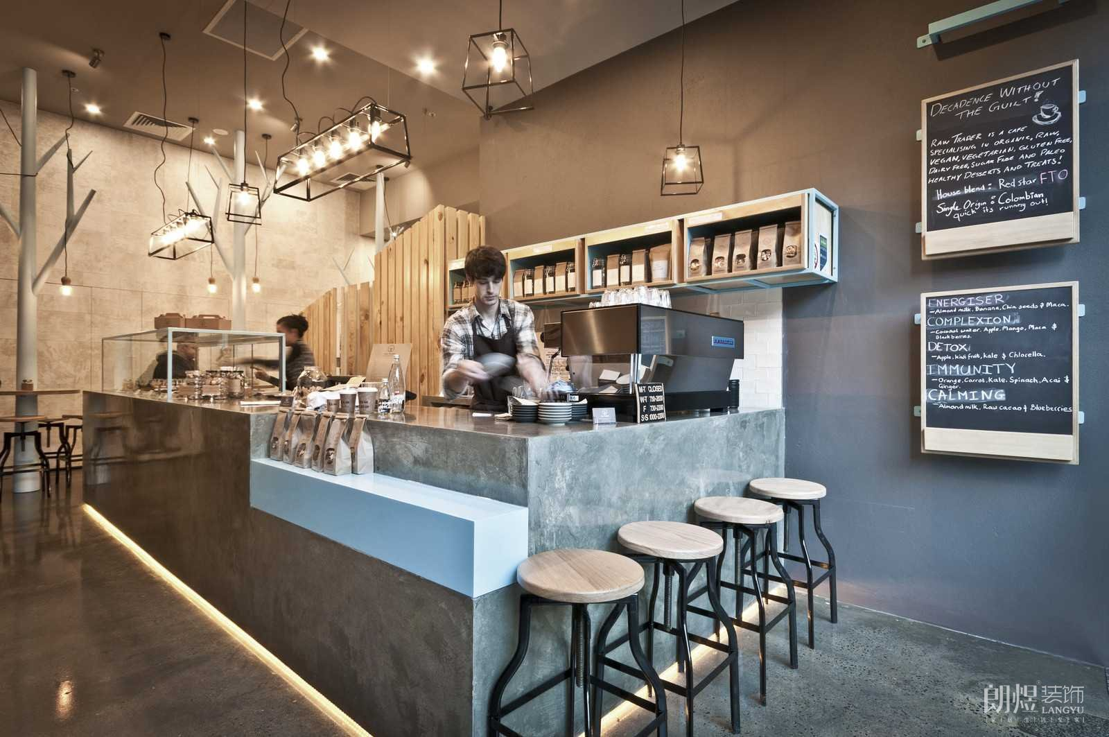 奶茶店用什么装修风格好?