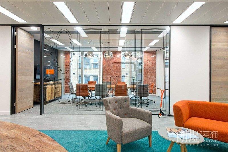 4种常见的办公室装修隔断形式,你get了吗