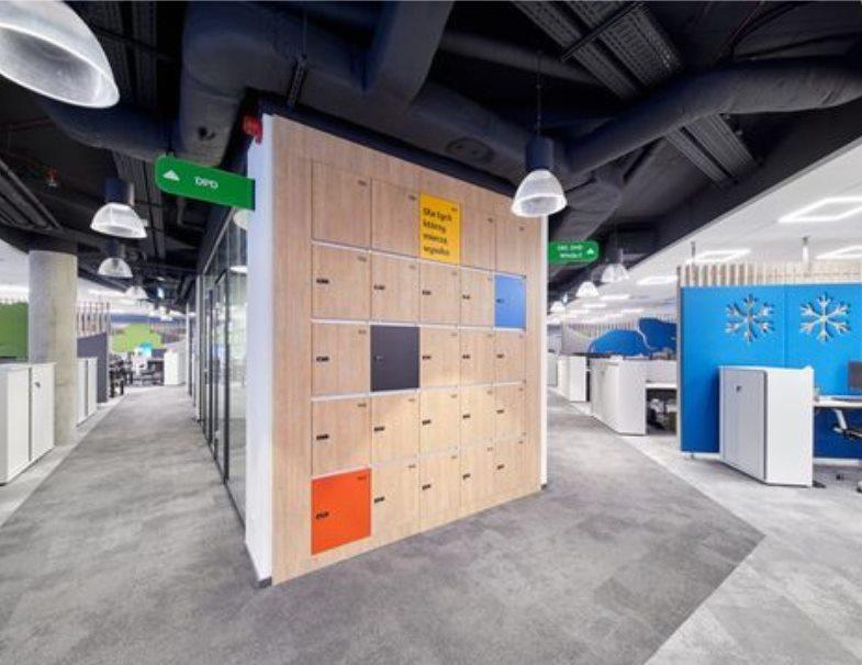 互联网公司办公室装修设计的特点