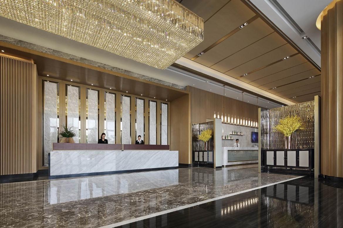 各风格酒店吧台设计效果图欣赏
