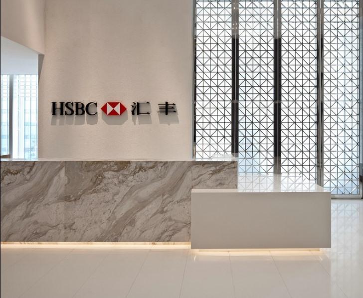 【汇丰】银行办公室设计效果图欣赏