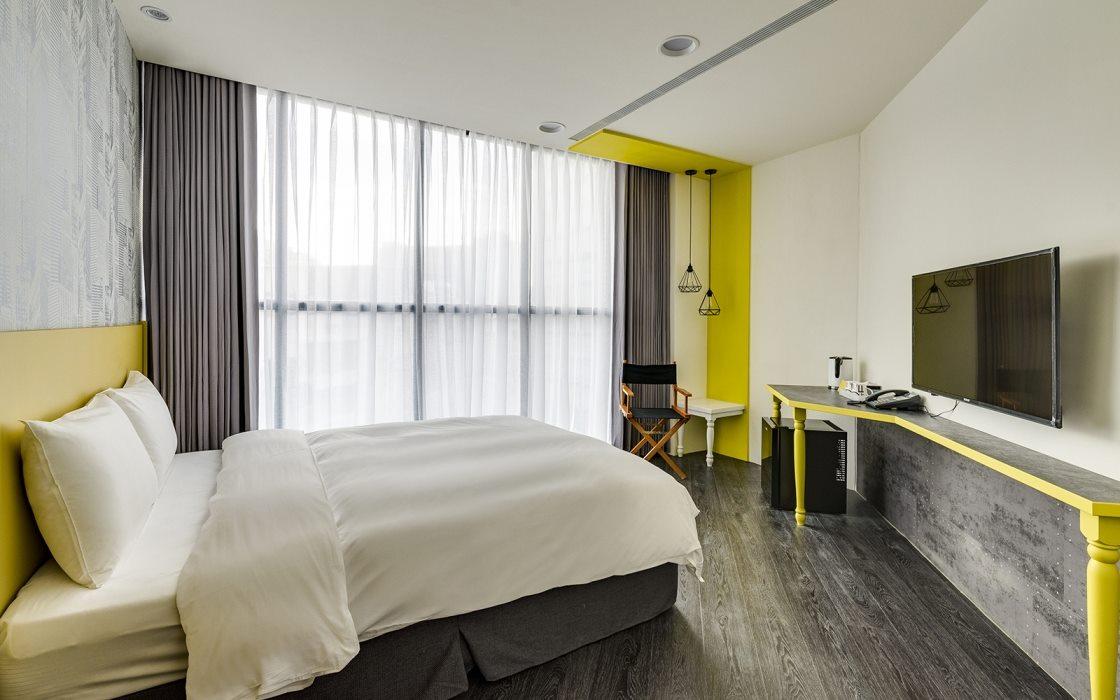 小型个性「旅店装修效果图」