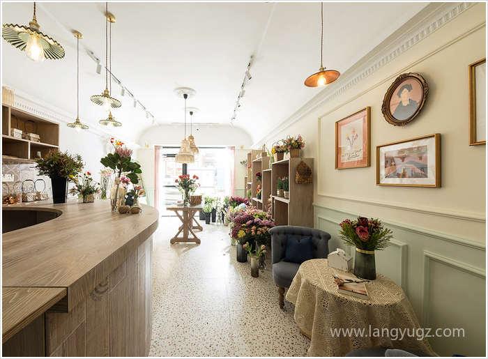 美式花店装修实景图片欣赏