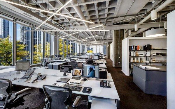 最大气的金融办公室装修设计方法解密!