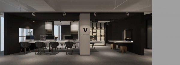 这样的黑白灰办公室装修风格你见过吗?