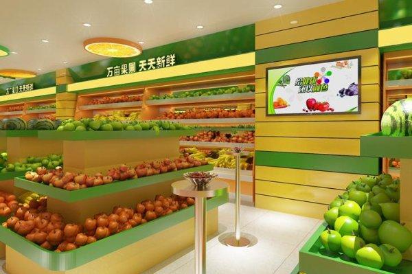 水果店铺这样装修,销售量暴增!