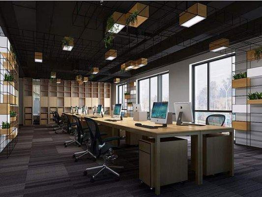 舒适的现代办公室装修的三要点!