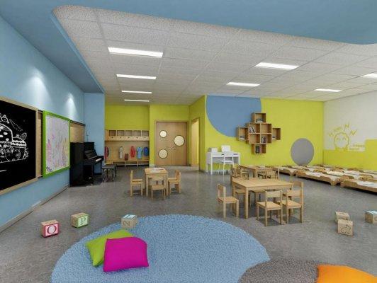 成都教育机构装修,如何打造舒适的活动