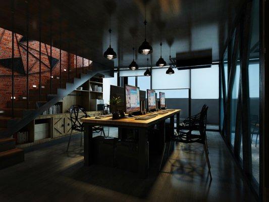 loft办公室常见的几种装修方式介绍!