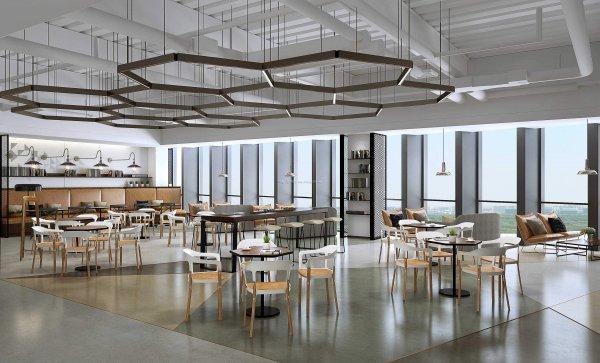 完善的成都办公室装修风格空间规划!