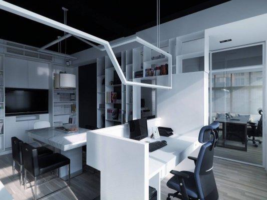 成都简约现代办公室如何装修?装修注意