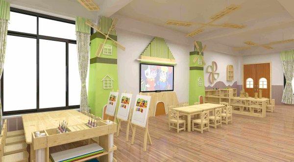 300平左右幼儿园如何装修设计?需要多少