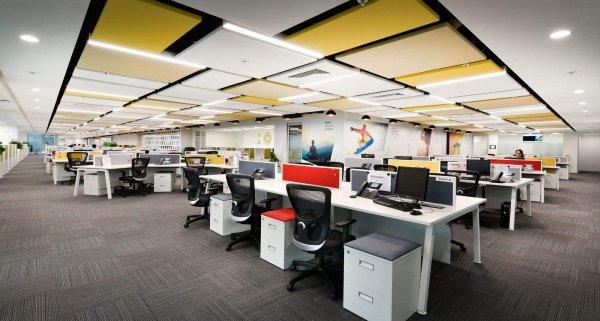 中小型办公室装修文化墙应该如何设计?