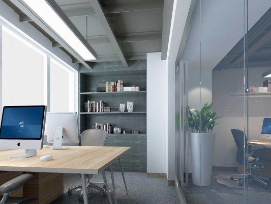 办公室装修设计如何做好噪音处理?【办公室装修效果图】