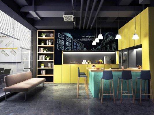 办公室装修时接待区与茶水区是否可以合
