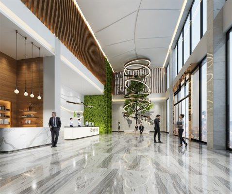 300平米办公室装修格局如何布置?