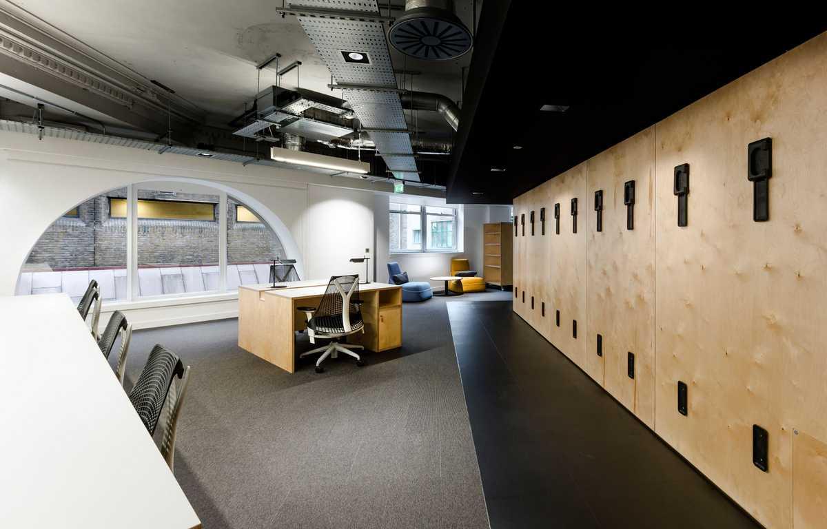 办公室装修不吊顶设计图片