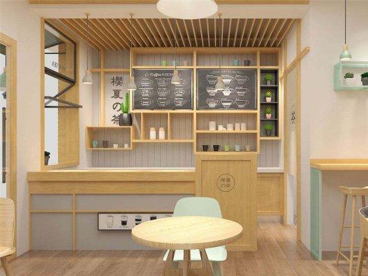 日式奶茶加盟店装修对材质有什么要求?