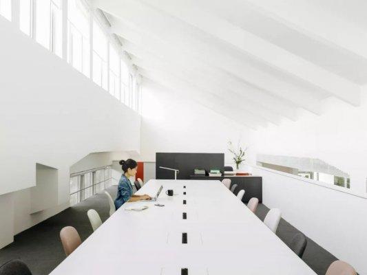 纺织厂房办公室装修效果图欣赏