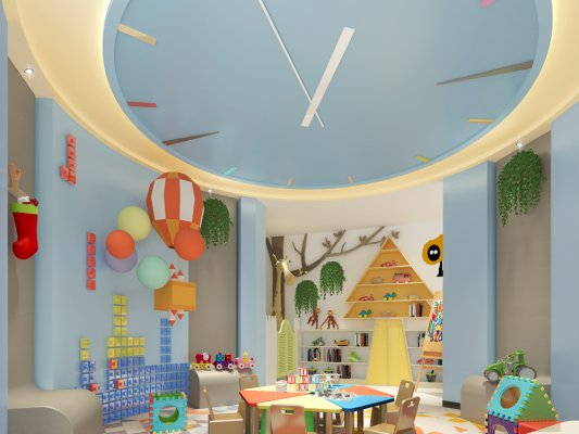 幼儿园装饰环境对孩子们的重要意义