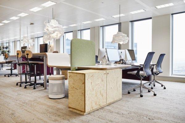 招商地产公司办公室装修设计布置
